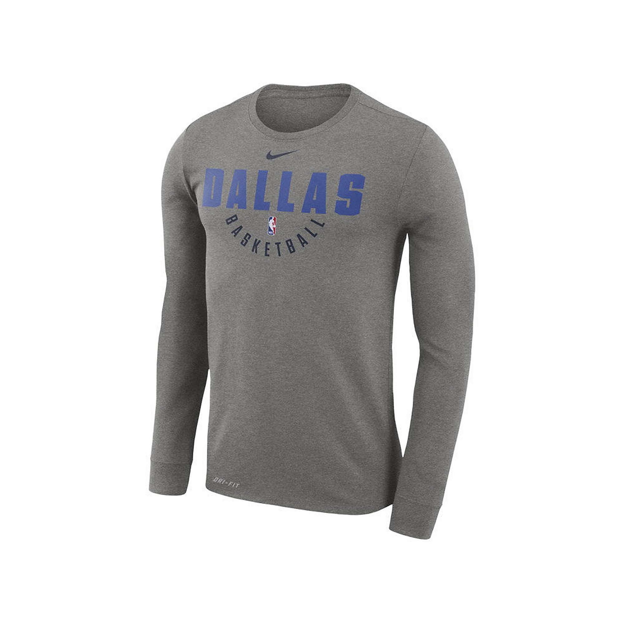 Dallas Mavericks Nike Dri-FIT Practice Long Sleeve T-Shirt