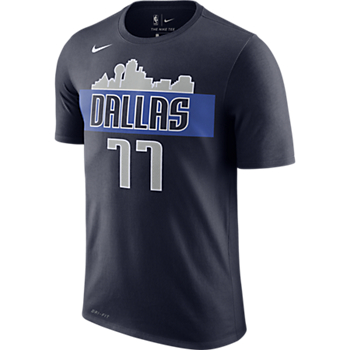 Dallas Mavericks Luka Doncic #77 Nike Dri-FIT Name & Number T-Shirt