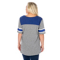 Dallas Mavericks 47 Womens Triblend Striped Sleeve T-Shirt