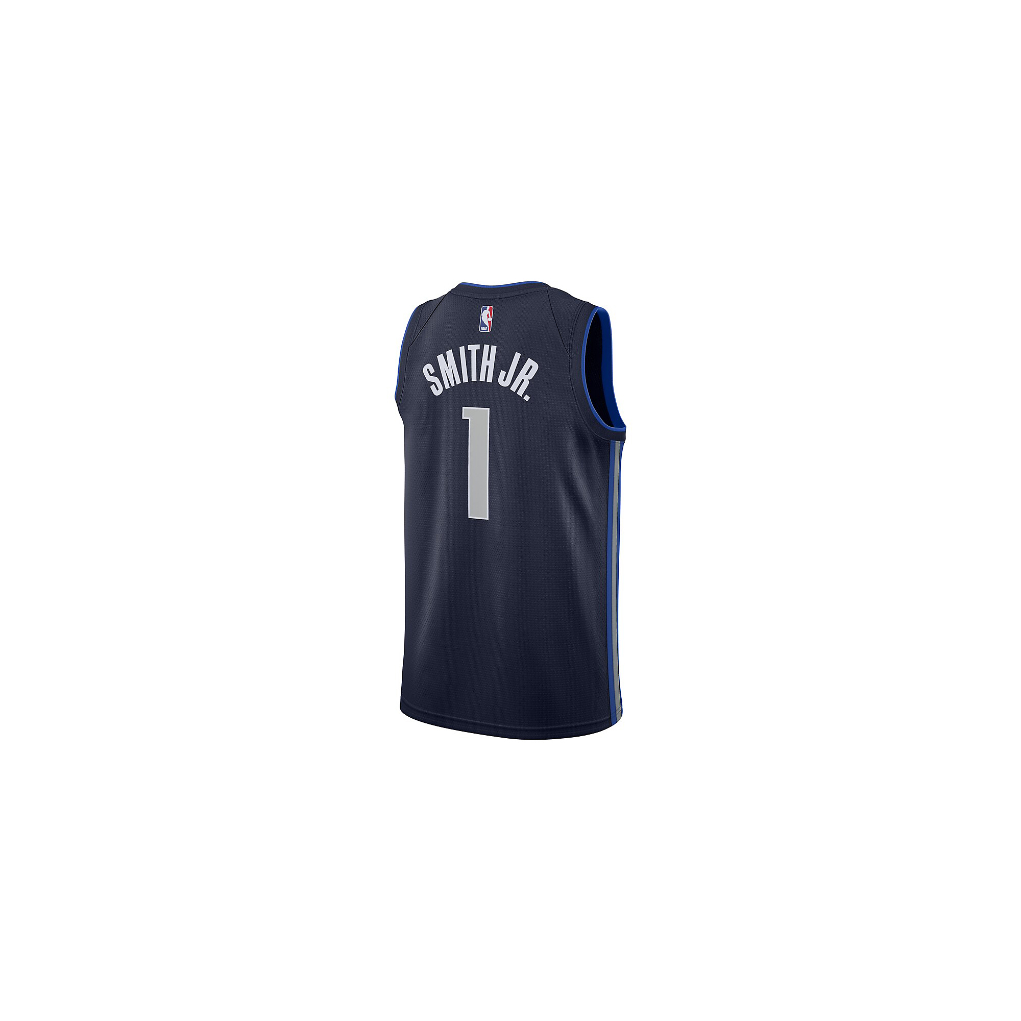 the latest d2b7a b8ee2 Dallas Mavericks Dennis Smith Jr Nike Navy Replica Swingman ...