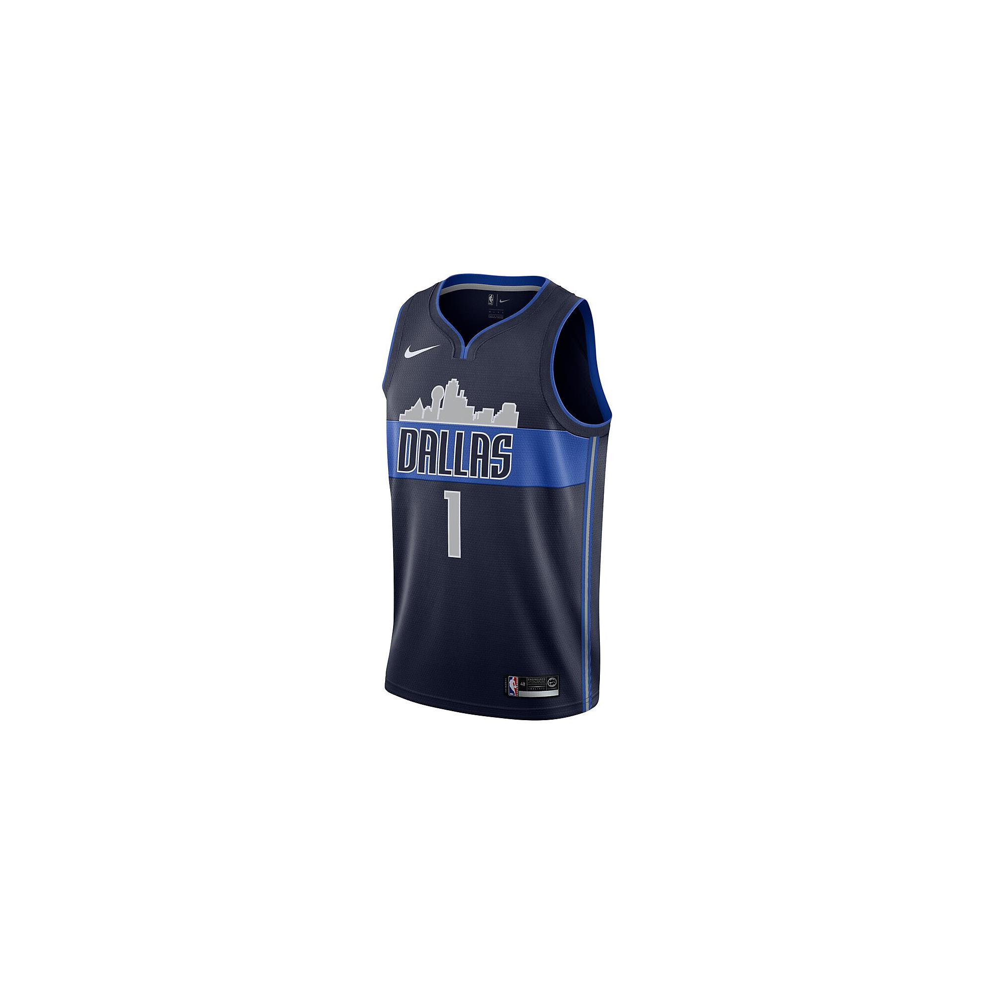 Dallas Mavericks Dennis Smith Jr Nike Navy Replica Swingman Jersey