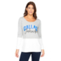 Dallas Mavericks Womens Gameday Couture Color Block Top