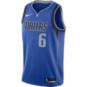 Dallas Mavericks Kristaps Porziņģis Nike Royal Replica Swingman Road Jersey