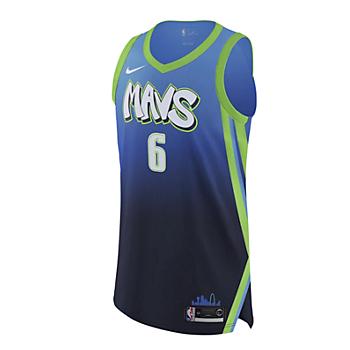 Dallas Mavericks Nike Kristaps Porziņģis City Edition Jersey