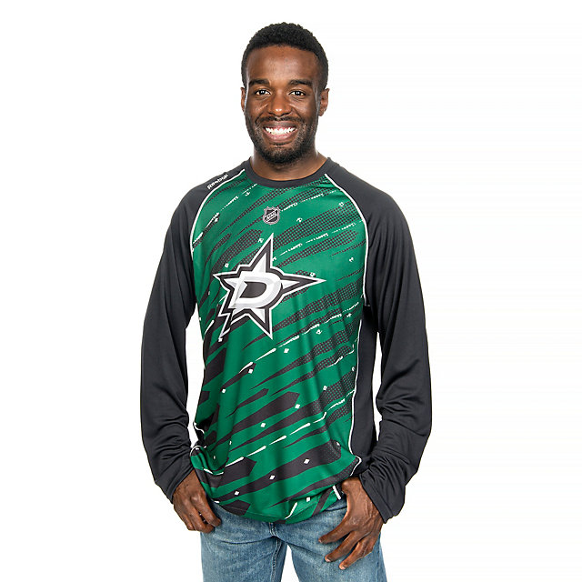Dallas Stars Adidas Trend Performance Long Sleeve Tee
