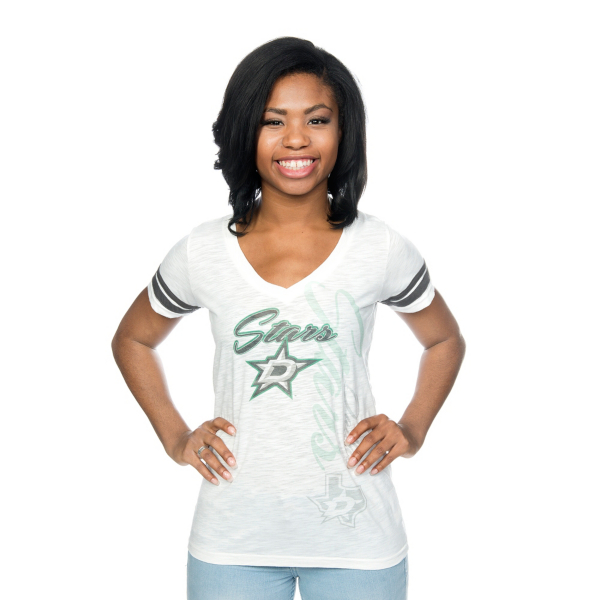 Dallas Stars Levelwear Womens Frenzy Tee