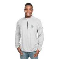 Dallas Stars Adidas 3-Stripe 1/4 Zip Pullover