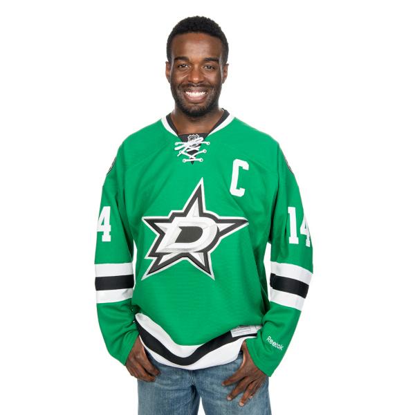 Dallas Stars Reebok Premier #14 Jamie Benn Jersey