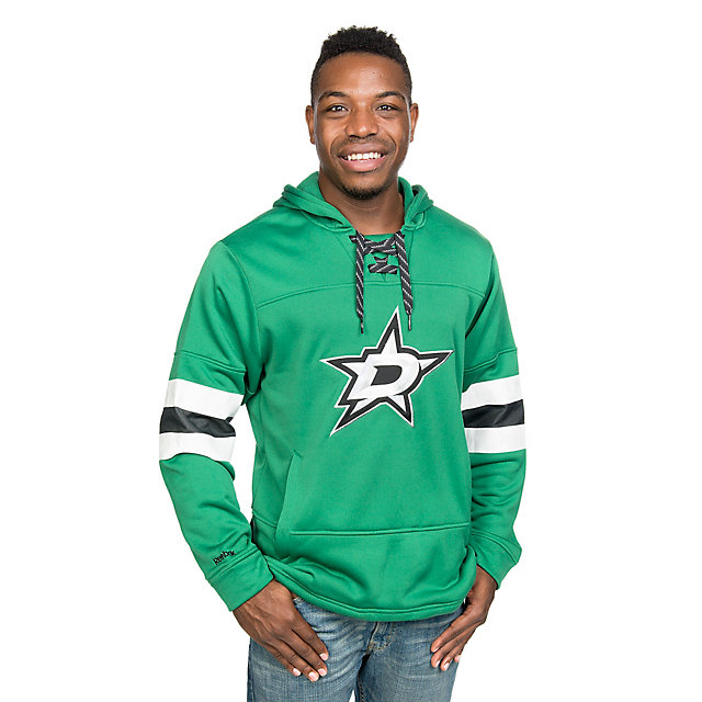 Dallas Stars Reebok Hockey Green Pullover Hoody
