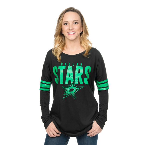 Dallas Stars 47 Courtside Tee
