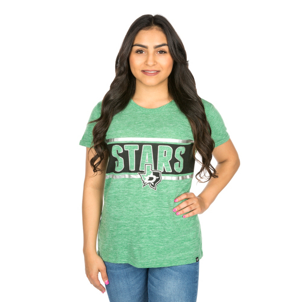Dallas Stars Womens 47 Clutch Hero Tee