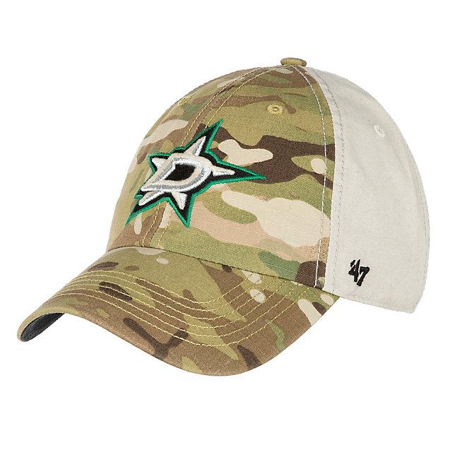 new concept 76c95 348e9 ... czech dallas stars 47 multicamo sumner clean up cap mens hats mens  dallas stars nhl fans