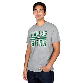 Dallas Stars 47 Block Stripe Club T-Shirt