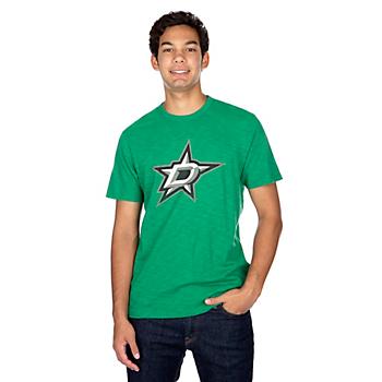 Dallas Stars 47 Letterpress Scrum T-Shirt