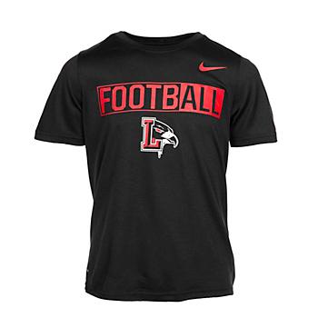 Liberty Redhawks Nike Boys Legend Short Sleeve Tee