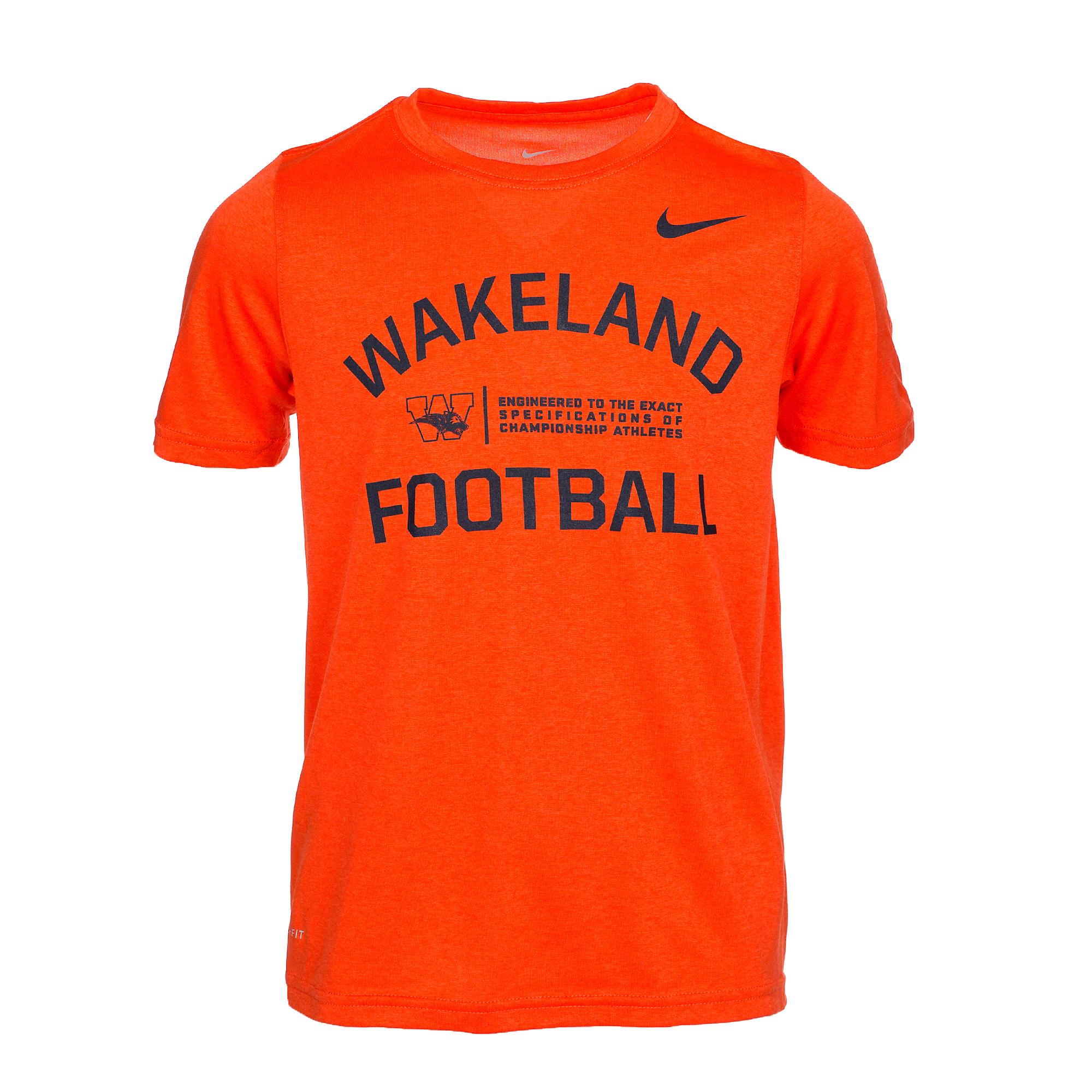 7722c0c5 Wakeland Wolverines Nike Boys Dri-Fit Legend Short Sleeve Tee | Fans ...