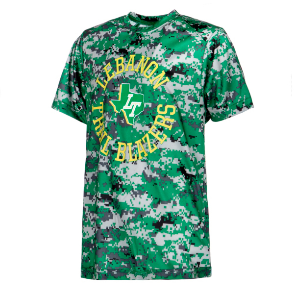 Lebanon Trail Blazers Youth Digi Camo T-Shirt