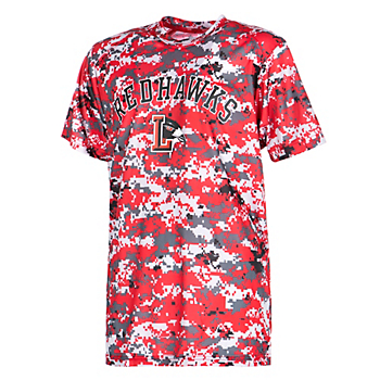Liberty Redhawks Youth Digi Camo T-Shirt