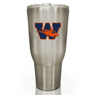 Wakeland Wolverines The Keeper 32 oz Stainless Steel Tumbler