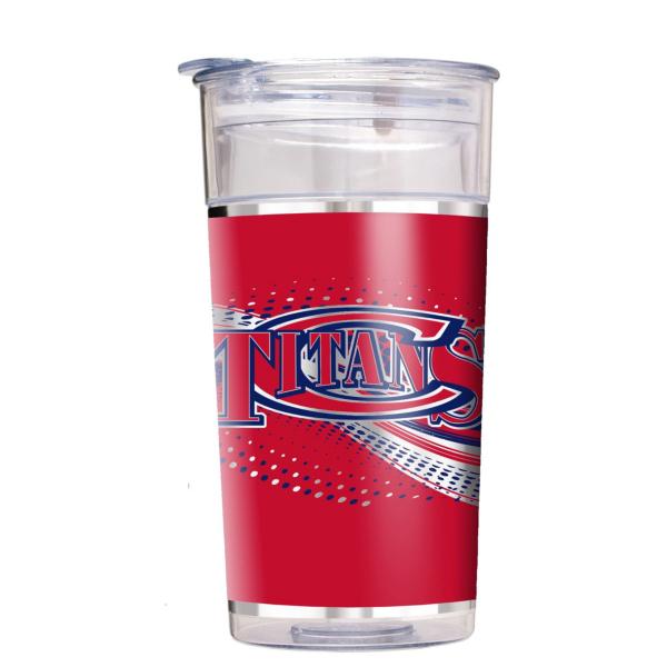 Centennial Titans 22 oz Double Wall Acrylic Party Cup