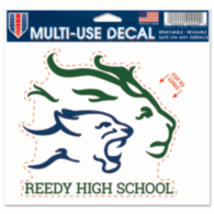 Reedy Lions 5x6 Multi Use Decal