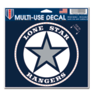 Lone Star Rangers 5x6 Multi Use Decal