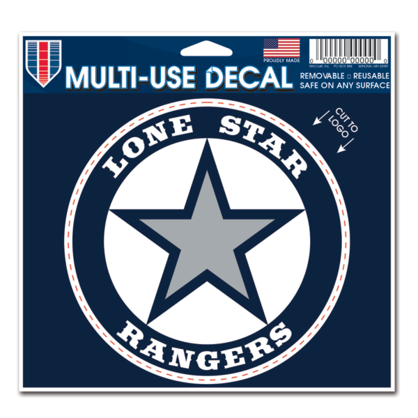 Lone Star Rangers 5x6 Multi Use Decal
