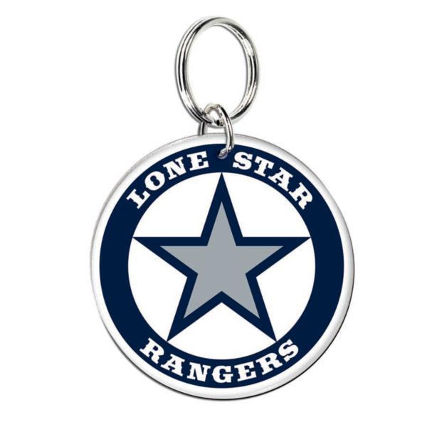 Lone Star Rangers Premium Acrylic Key Ring