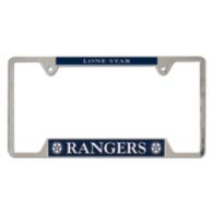 Lone Star Rangers Metal License Plate Frame
