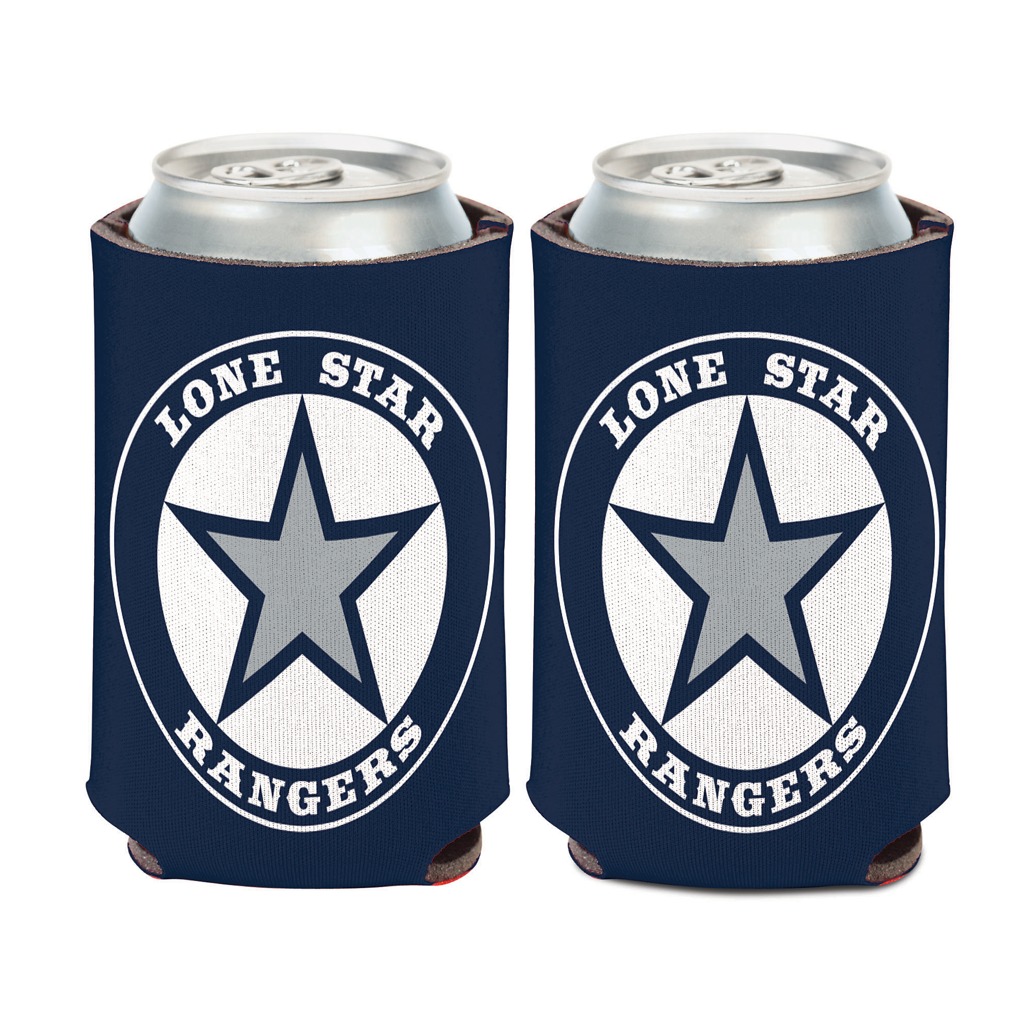 Lone Star Rangers 12 oz Can Cooler