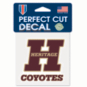 Heritage Coyotes 4x4 Perfect Cut Decal