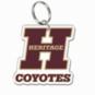 Heritage Coyotes Premium Acrylic Key Ring