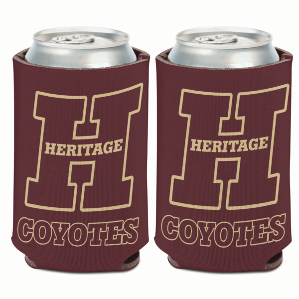 Heritage Coyotes 12 oz Can Cooler