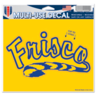 Frisco Raccoons 5x6 Multi Use Decal