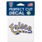 Frisco Raccoons 4x4 Perfect Cut Decal