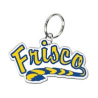 Frisco Raccoons Premium Acrylic Key Ring