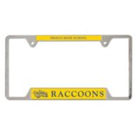 Frisco Raccoons Metal License Plate Frame