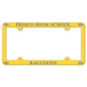 Frisco Raccoons Plastic License Plate Frame