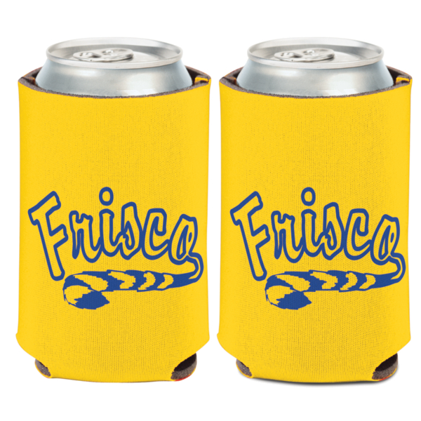 Frisco Raccoons 12 oz Can Cooler