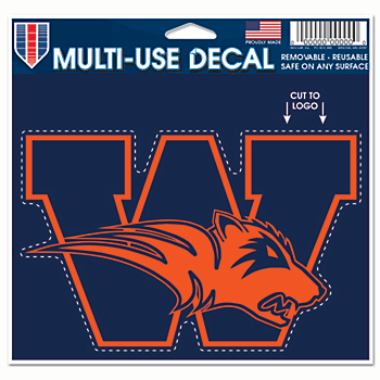 Wakeland Wolverines 5x6 Multi Use Decal