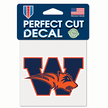 Wakeland Wolverines 4x4 Perfect Cut Decal