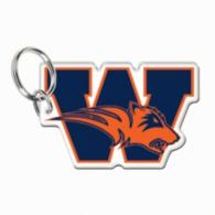 Wakeland Wolverines Premium Acrylic Key Ring