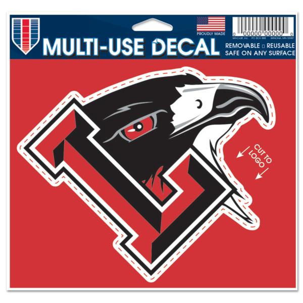 Liberty Redhawks 5x6 Multi Use Decal