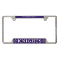 Independence Knights Metal License Plate Frame