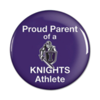 """Independence Knights 3"""" Round Button"""