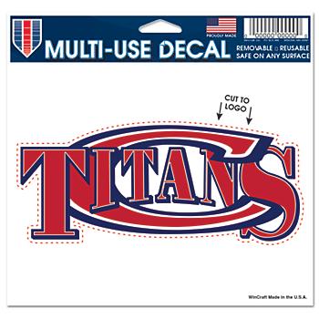 Centennial Titans 5x6 Multi Use Decal