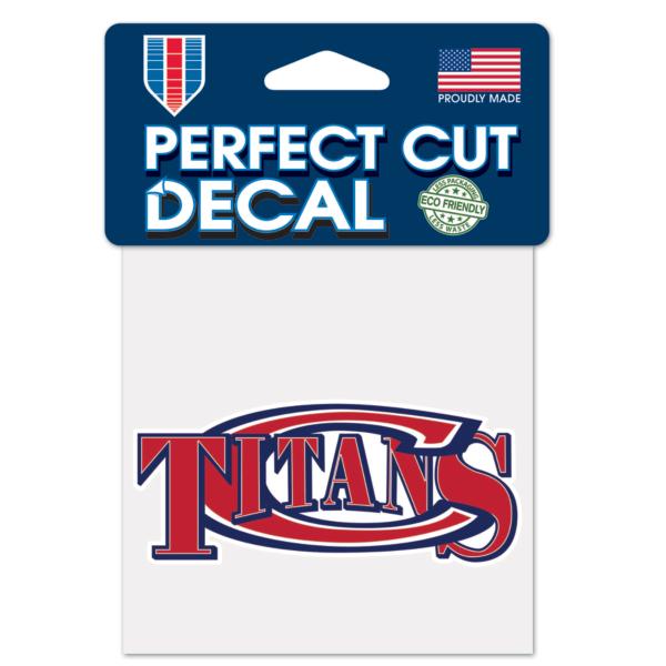 Centennial Titans 4x4 Perfect Cut Decal