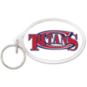 Centennial Titans Oval Acrylic Key Ring