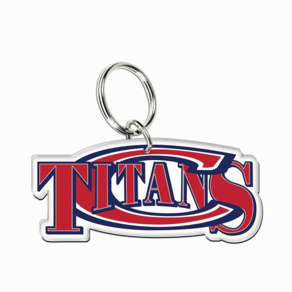 Centennial Titans Premium Acrylic Key Ring