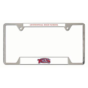 Centennial Titans Metal License Plate Frame